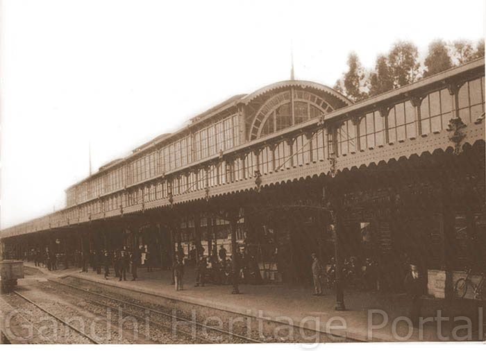 Pietermaritzburg Railway Station: the seeds of Satyagraha were sown here.