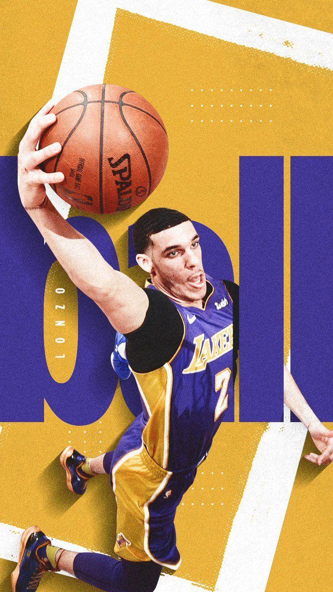 Meech Robinson On Twitter Lonzo Ball Basketball Players Nba Sports Graphic Design