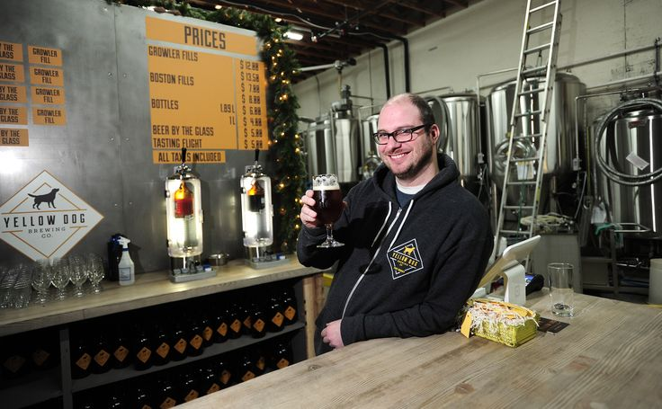 Yellow Dog Brewery and Owner Mike Coghill