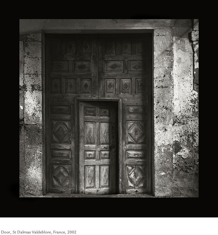 Kristoffer Albrecht, Door, St Dalmas Valdeblore, France, 2002