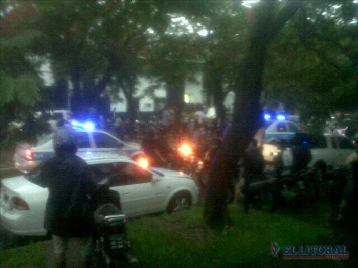 Las protestas policiales se endurecen en Chaco