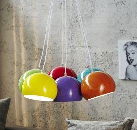 Retro design bolspot colore bundel