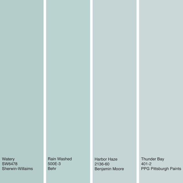 These Soft Muted Greenish Blue Hues Work Especially Well For Bedrooms And Bathrooms Where Aqua Blues Greens Jenny Shain Decor Paint