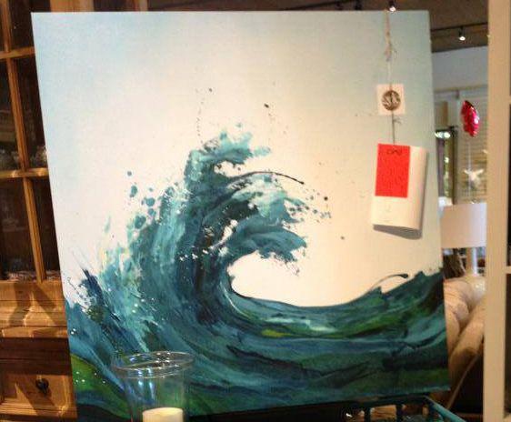 Wave Painting Art Pinterest Wave Paintings Waves