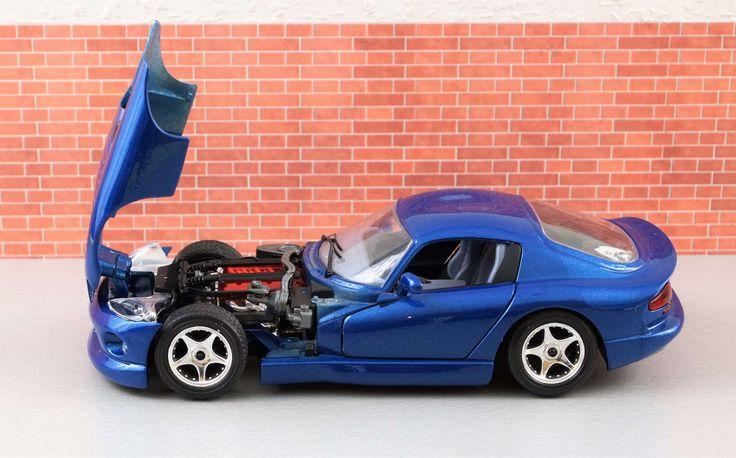 #auto #automotive #blue #classic #dodge #model #model car #motorsport #old #oldtimer #sports car #toys #vehicle #viper #dodgeviperblue
