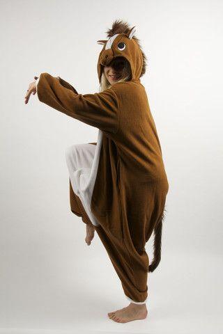 Paard Kigurumi - Gratis verzending - Dieren Onesie - Sazac - Dierenpak | Kigurumi Party