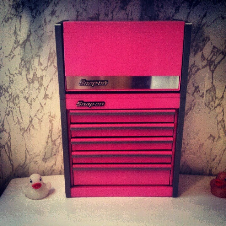 pink snap on jewelry box favorite things pinterest