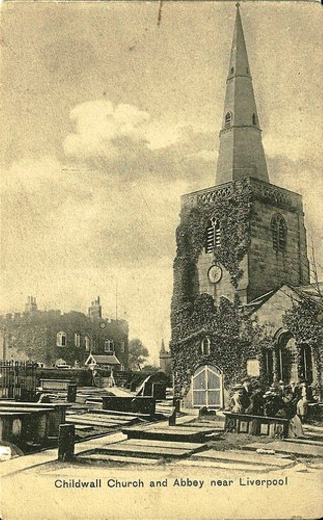 Childwall church and abbey