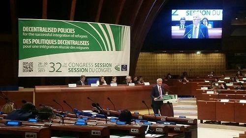 Congresso del Consiglio dEuropa flussi migratori: lintervento del consigliere Niro