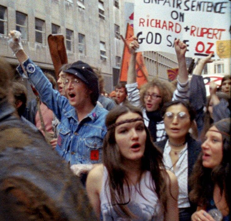 Protest, NYC, Early 1970s