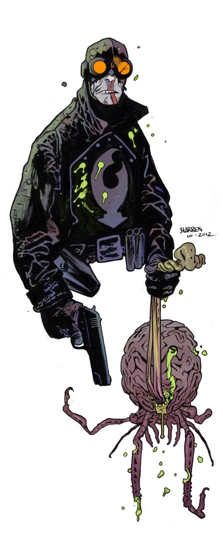 Lobster Johnson by JHarren.deviantart.com on @deviantART