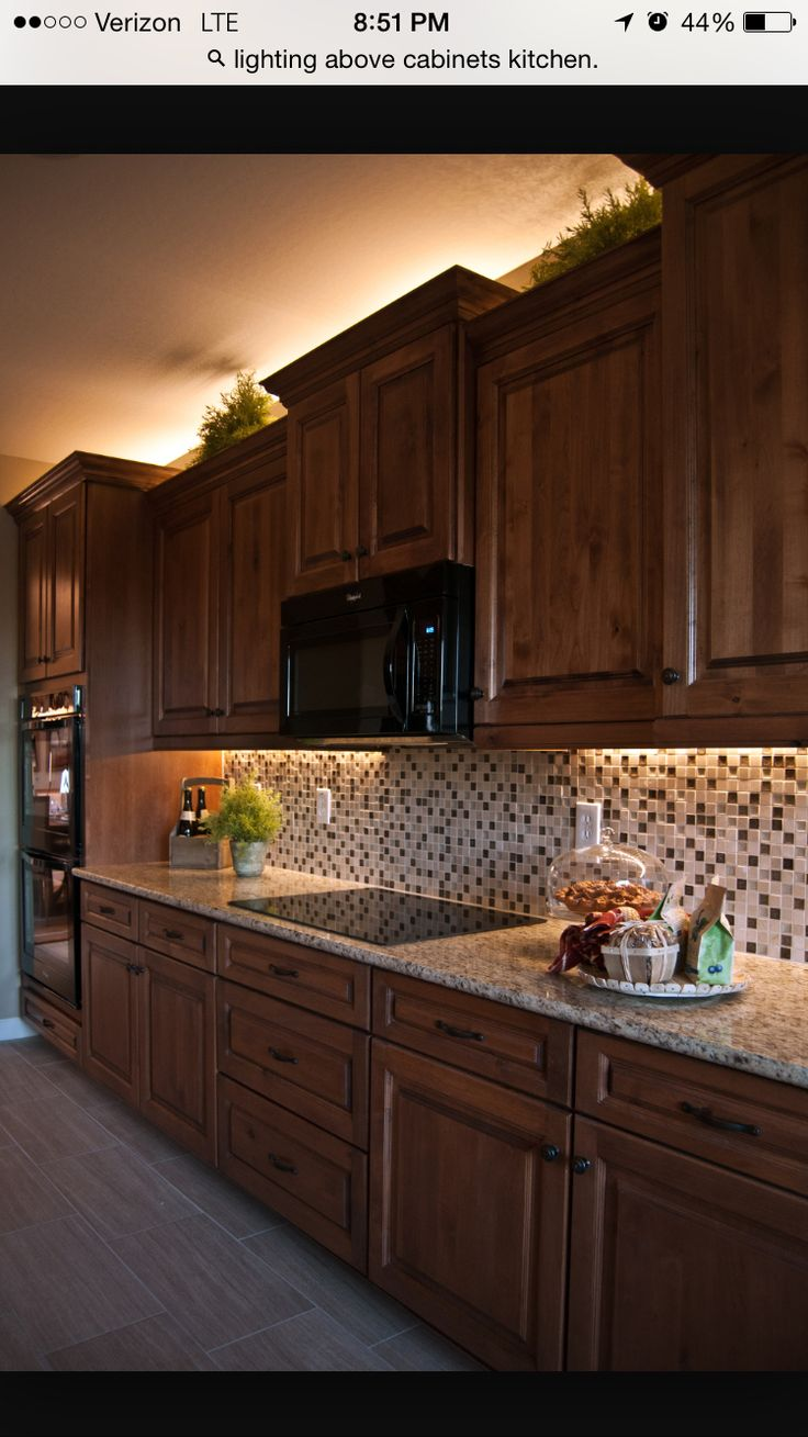 Under Cabinet And Above Cabinet Lighting General House