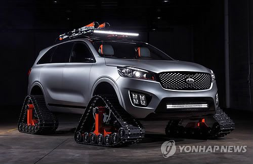 Kia Motors unveils 4 modified cars at US auto show | Koogle TV