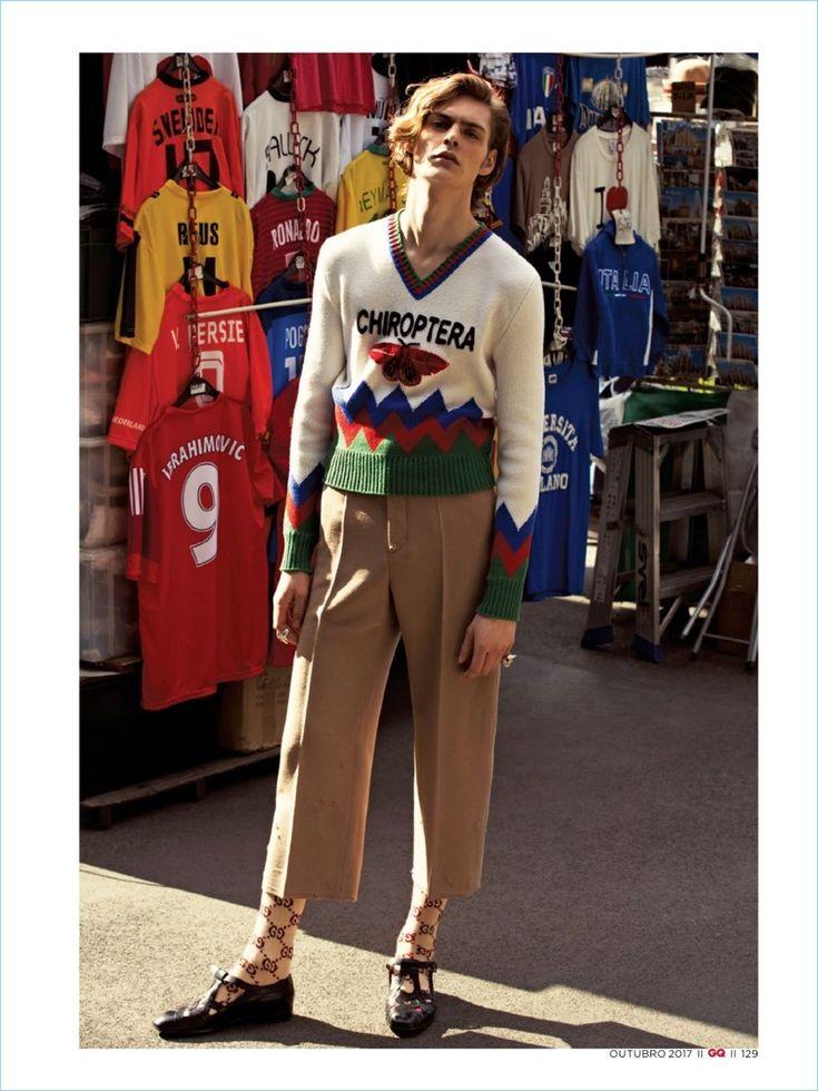 Creative Clash: GQ Brasil Spotlights Gucci - The Fashionisto