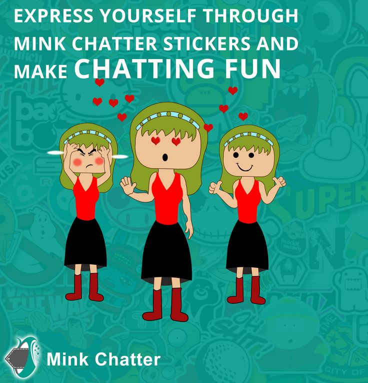 Express yourself using Mink Chatter Stickers! An app which will get you addicted to its mind boggling features. Mink Chatter is a chatting, sharing and shopping platform and helps you to connect with people globally. It features cool stickers which you can send to your friends to make chatting a fun experience. Coming soon to get you hooked!