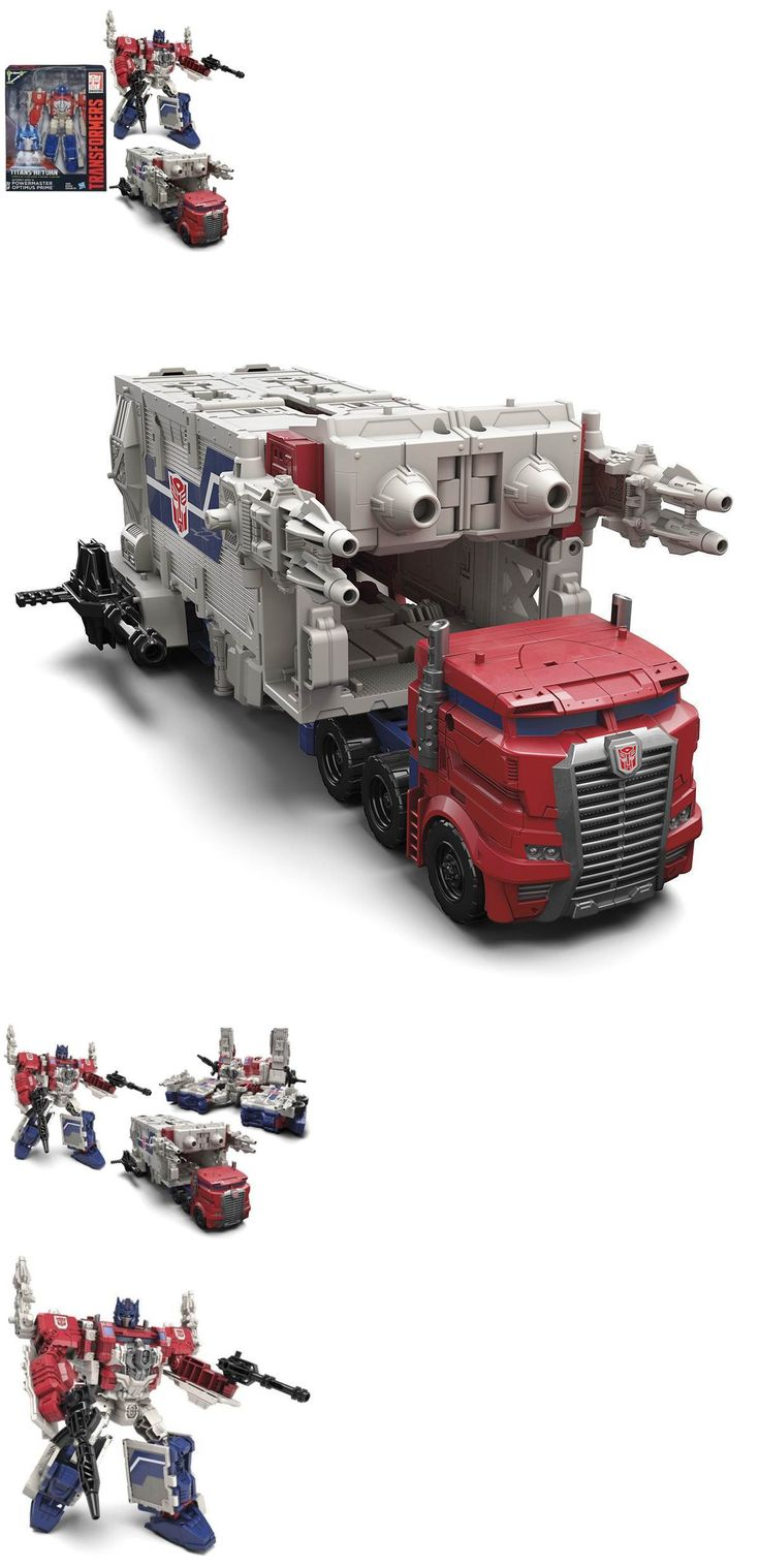 Transformers and Robots 83732: Transformers Titans Return Leader Powermaster Optimus Prime New -> BUY IT NOW ONLY: $54.99 on eBay!