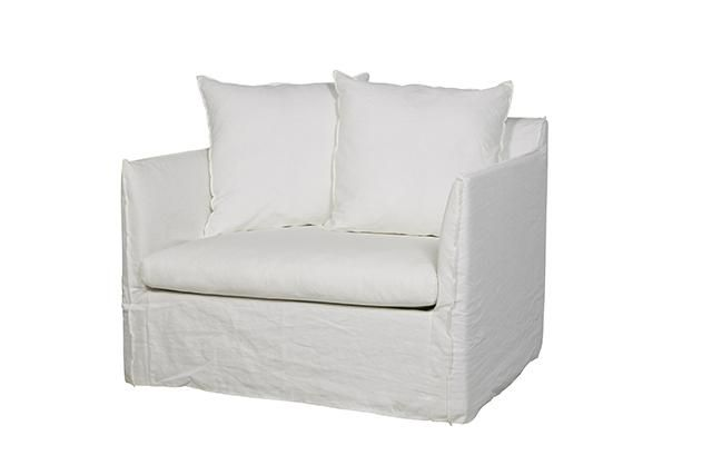 GlobeWest - Vittoria Slip Cover Sofa Chair
