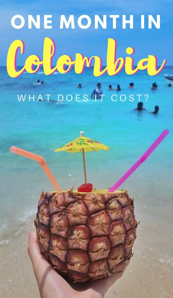 Are you trip planning and wondering, how much does it cost to travel in Colombia? In this report we break down exactly how much we spent in one month. Click through to read now...