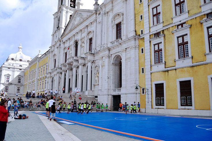 Pavimento Modular Patmos no Palácio Nacional de Mafra em Mafra, Lisboa