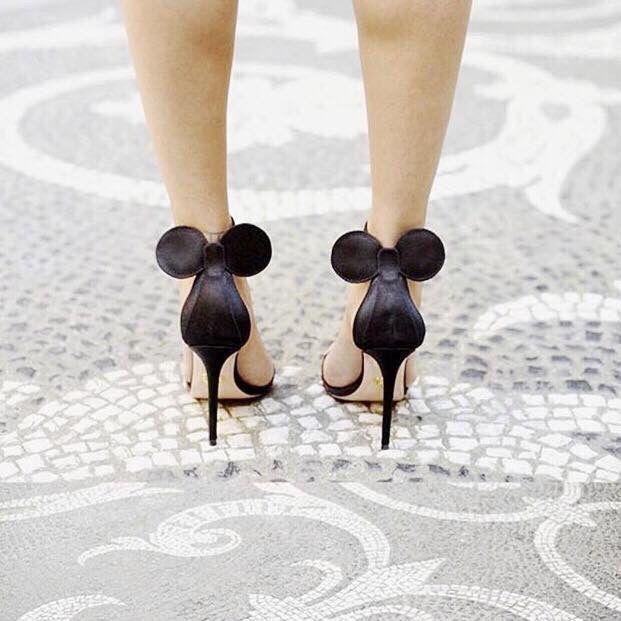 Mickey Mouse Stilettos...