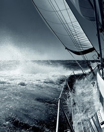 Ιστιοπλοία κοντά στην Πάτμο  Sailing near Patmos island