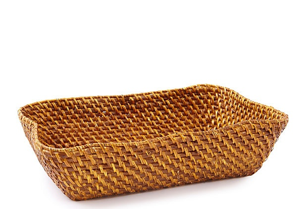Drape a pretty napkin in this basket and fill it with breads, rolls or crackers.: Breads Rolls, Bread Rolls