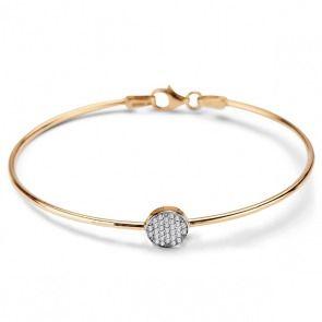 Złota #bransoletka z - Biżuteria srebrna dla każdego tania w sklepie internetowym Silvea
