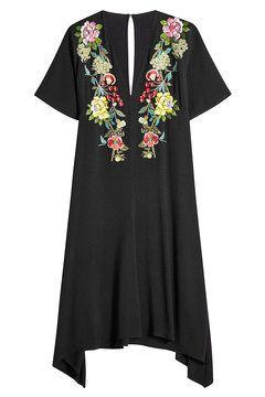Asymmetrisches Kleid mit Stickereien | Etro