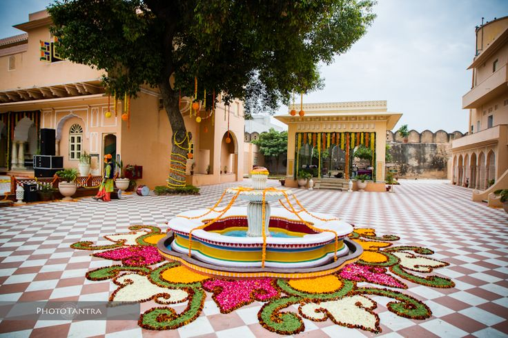 Samode Palace Wedding in Jaipur: Harish and Ruchika
