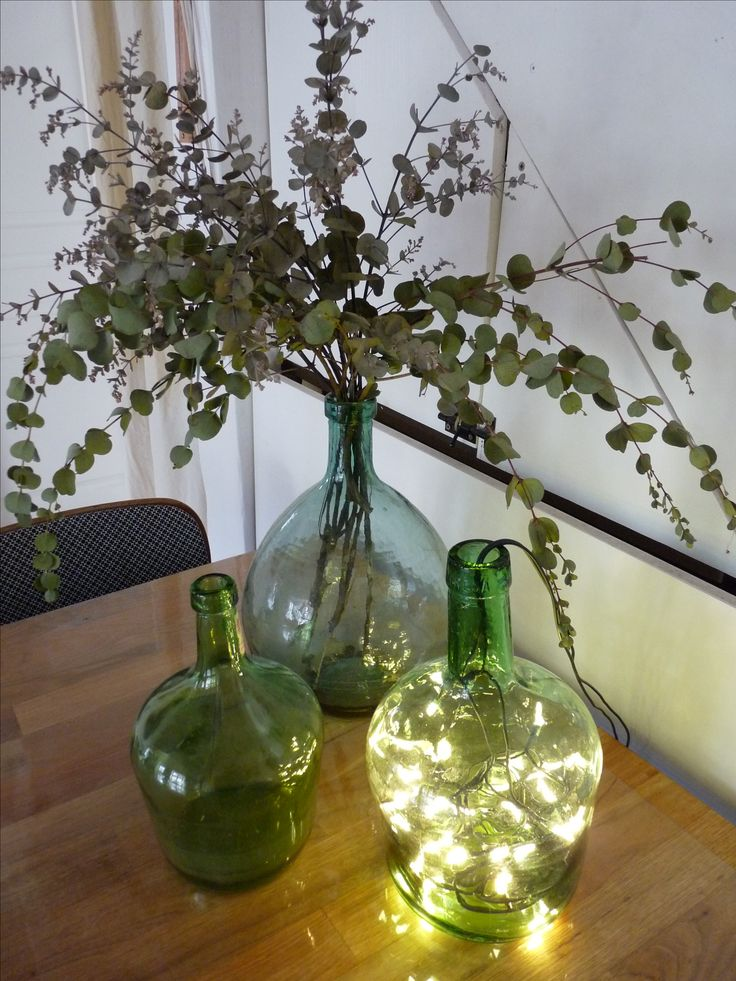 25 best ideas about bonbonne en verre on pinterest dame for Decoration lumineuse