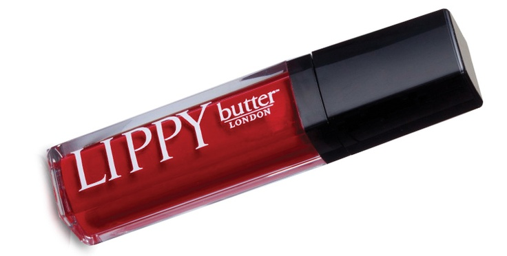 GO RED for Valentines Day / Heart Health Month: Butter London Lippy Lipgloss in Come to Bed Red