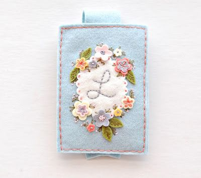 feeling stitchy: Embroidered Gadget Cozy by Melissa from Sew Sweet Stitches