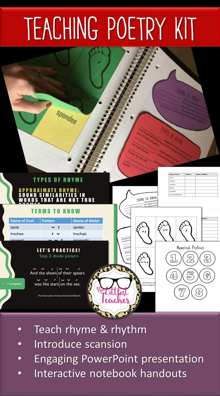 95686 best creative teaching images on pinterest creative introduce your students to the mechanics of poetry with this engaging fully animated powerpoint presentation biocorpaavc Image collections