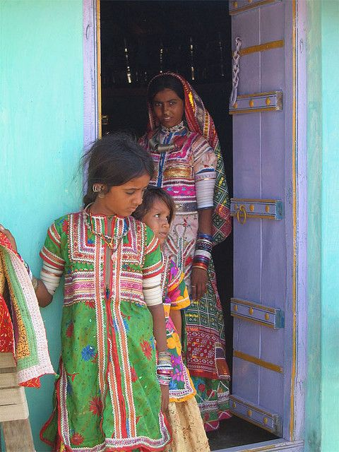 Kutch Family. Gujarat , India