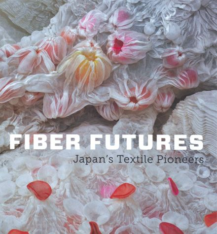 """Fiber Futures: Japanese Textile Pioneers""  documents and exhibition of contemporary Japanese artists… who are active at the cutting edge of the global fiber-art movement, transforming fabrics into sculptures, pictures, emulations of nature, or even abstract meditations on memory and identity. Text & image via La Maison Lion"