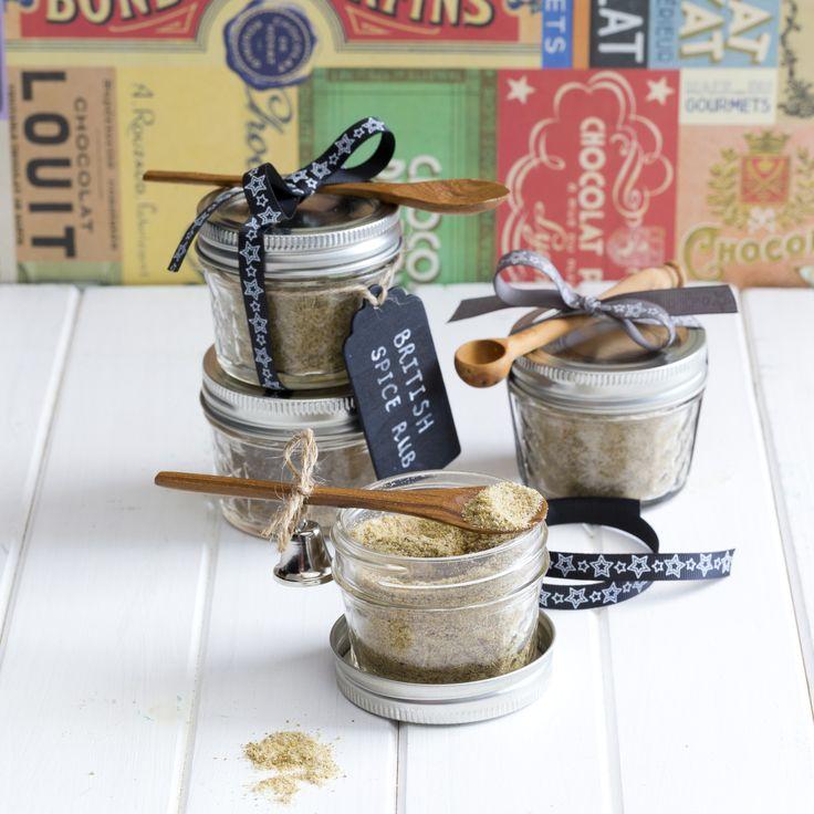 British spice rub  | Thermomix Festive Flavour cookbook and recipe chip