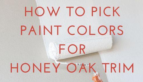 Coordinating Paint Colors with Oak Trim