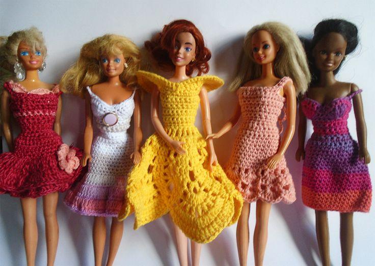 Coctail dresses for Barbie