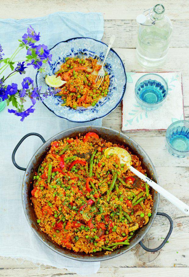 Vegetariánská paella , Foto: Lahodně s Ellou každý den