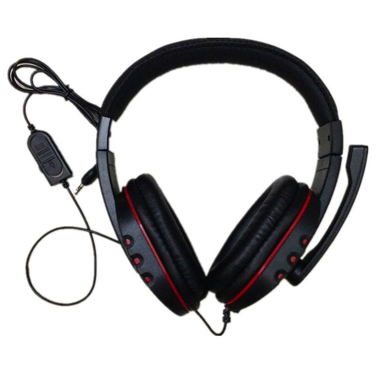 Luxury Click to Buy uc uc CES Big Wired PS gaming Headset earphones with Microphone
