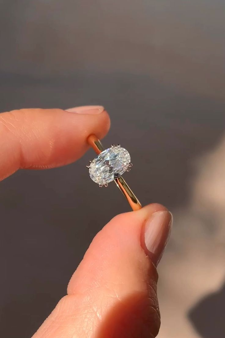 1.14 CARAT MID-CENTURY DIAMOND VINTAGE ENGAGEMENT RING | Erstwhile
