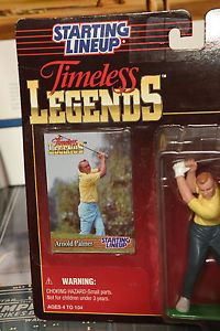 """STARTING LINEUP TIMELESS LEGENDS """"THE KING"""" ARNOLD PALMER ACTION FIGURE!"""