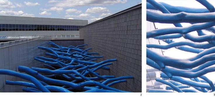 Claude Cormier - Architecture de paysage + Design urbain - BLUE FOREST (FORÊT BLEUE)
