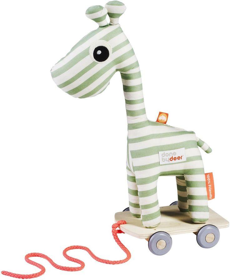 Done by Deer Nachziehtier Raffi, die Giraffe aus Dänemark. Skandinavisches Design für Dein Kinderzimmer!