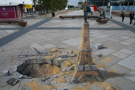 Amazing 3D Sidewalk Chalk Art 8 by dwightgenius, via Flickr