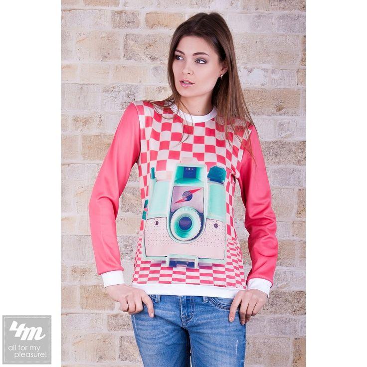 Кофта Свитшот Glem «Ретрофото №1» (Белая отделка) http://lnk.al/3JKR  Состав: Дайвинг  #мойстиль #кофты #свитшот #свитшоты #кофта #стильныевещи #мода #вещи #кофточка #кофточки #одеждаУкраина #4m #4m.com.ua