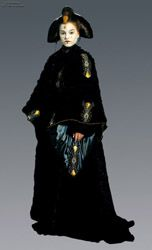 Queen Amidala (Episode I: The Phantom Menace, Coruscant Gown)