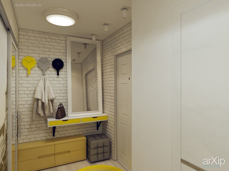 Дизайн прихожей в трехкомнатной квартире интерьеры, зd визуализация, назначение…