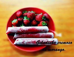 Gostinho de Verão – Geladinho de Frutas.