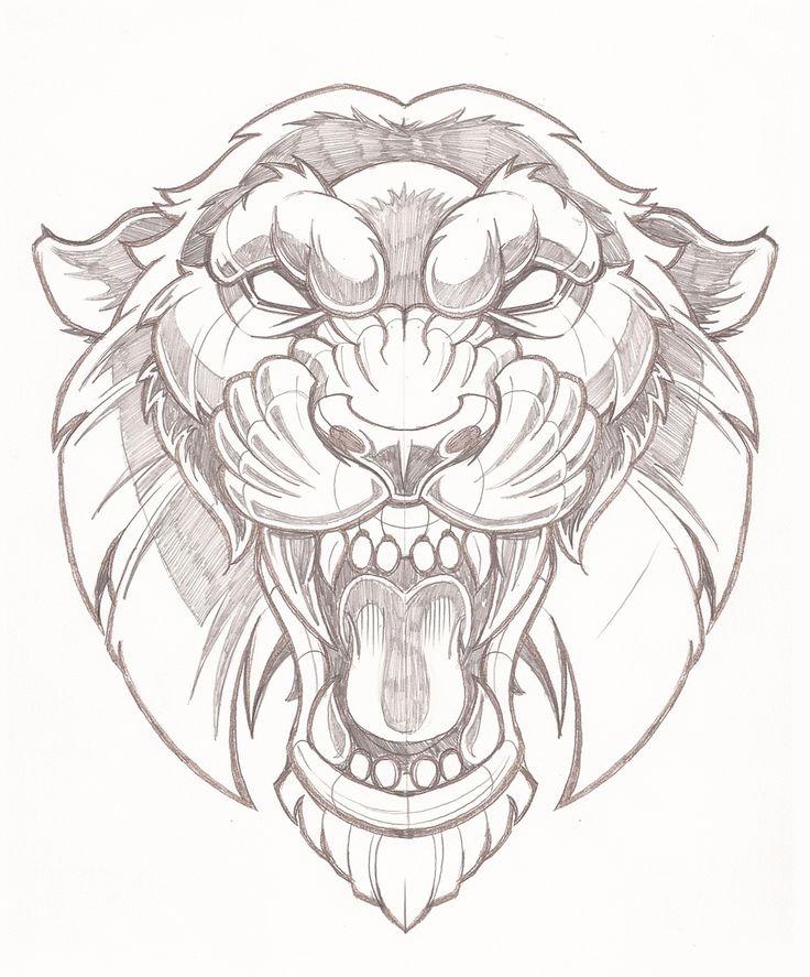 Vector Tiger illustration 1